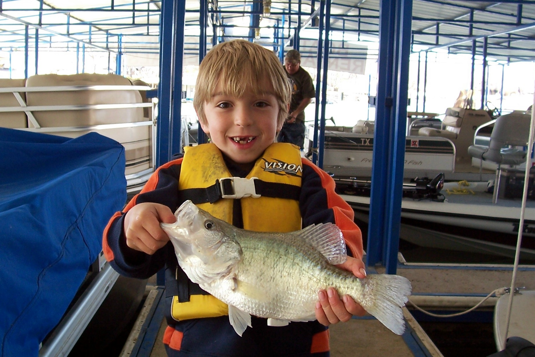 Dylan's Crappie Caught at North Side