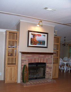 Fireplace and Cathedral Ceilings