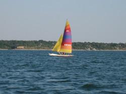 Sail Boating is fun