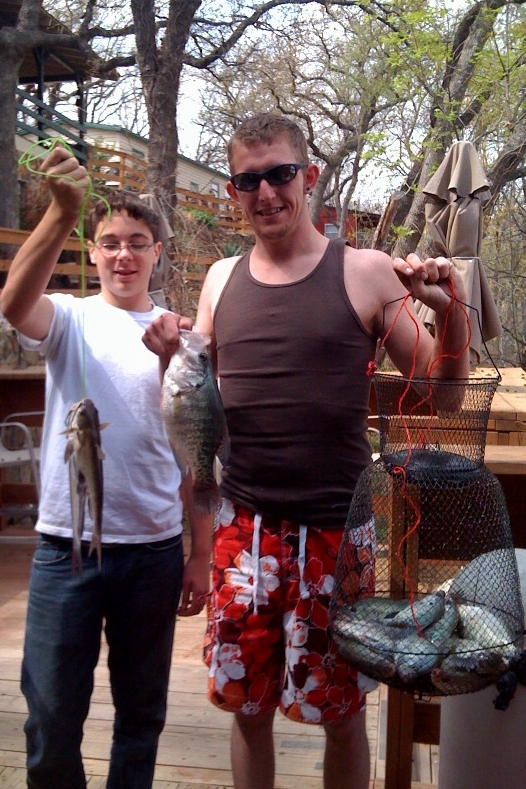 We Caught a Basket Of Crappie!