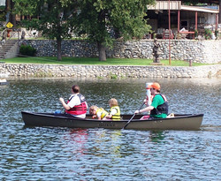 Family Canoing