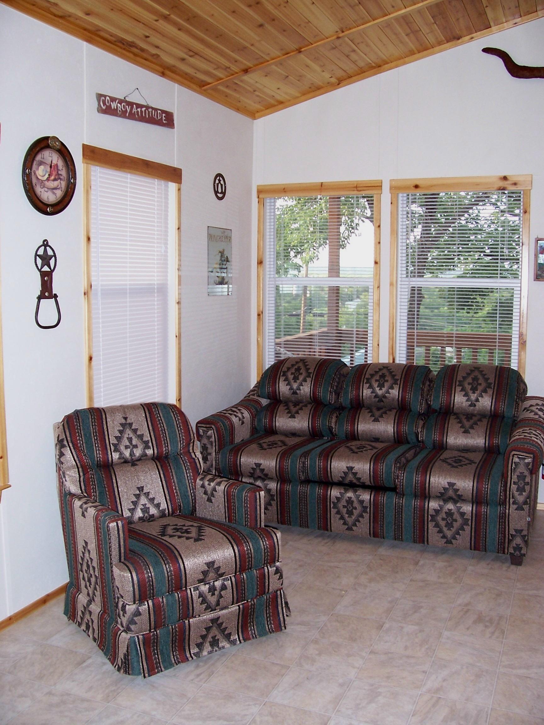 Living area for Silverado