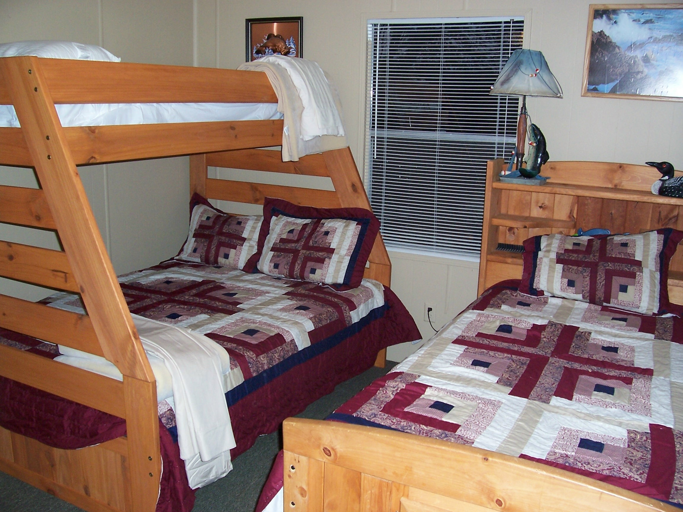 2nd Bedroom with Bunks