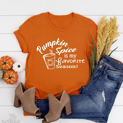 Pumpkin Spice Short-Sleeve Unisex T-Shirt