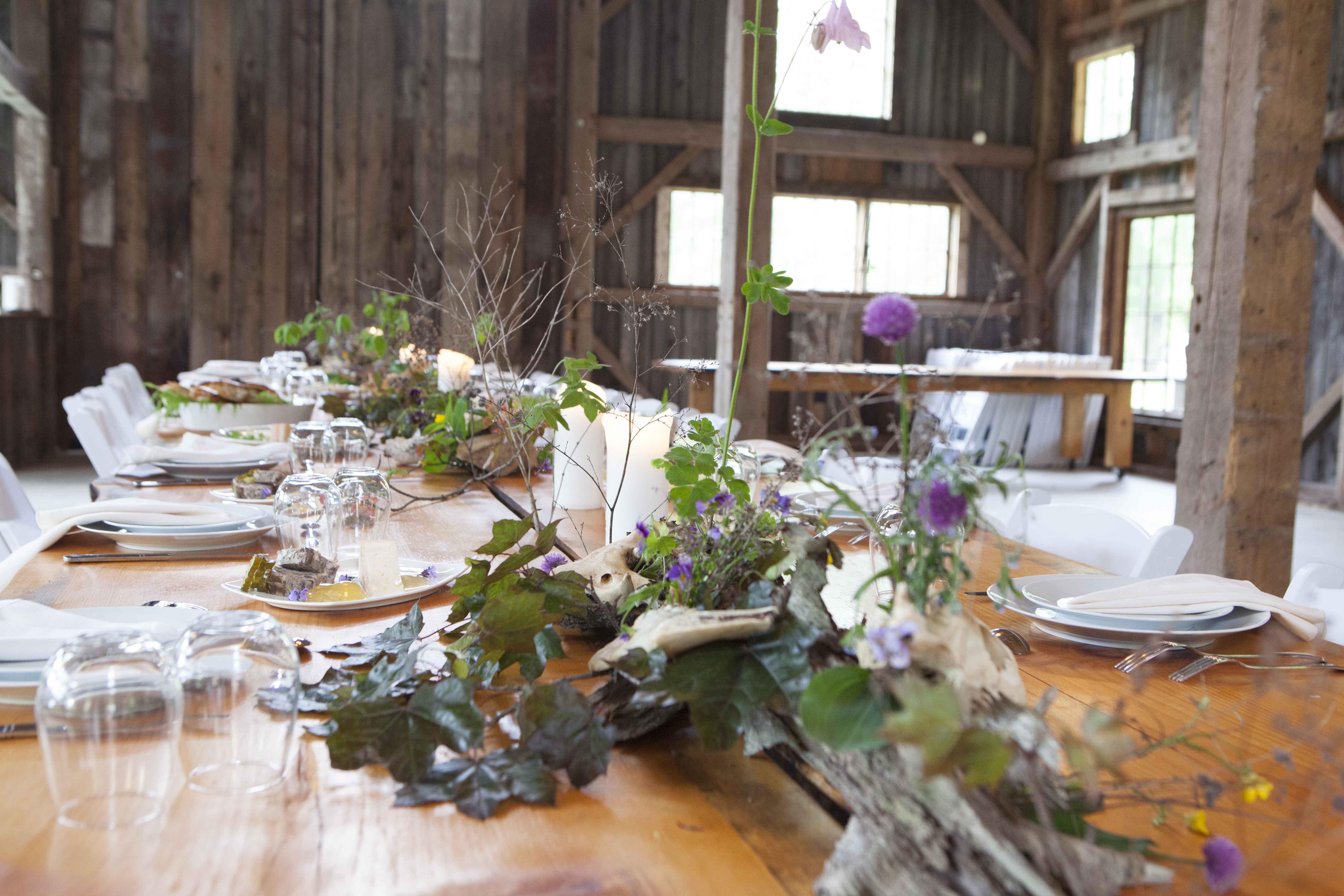 Family Farm Dinner event