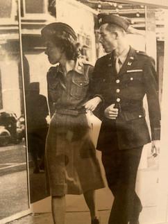 TSgt. Charlotte Newman and William W. Newman, Captain