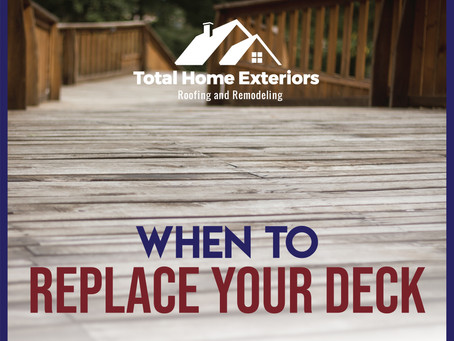 How to Know When It's Time to Replace Your Deck