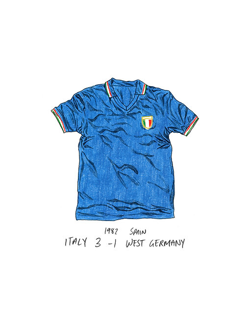 Italy, World Cup 1982 - A4