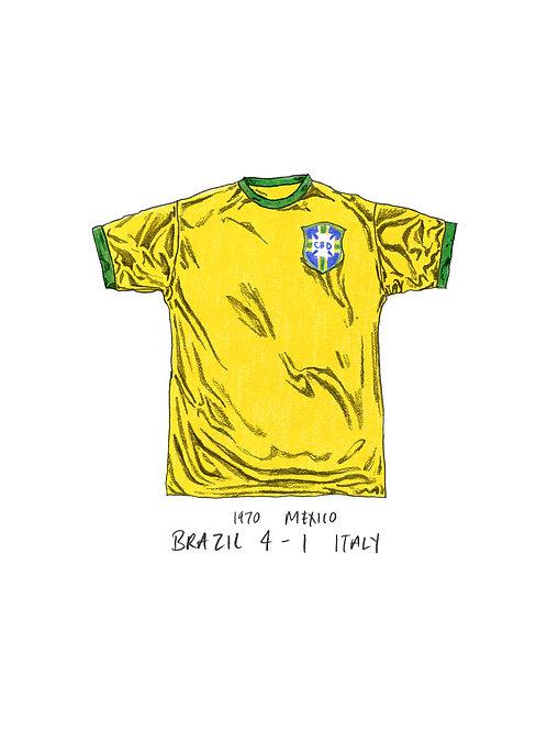 Brazil, World Cup 1970 - A4