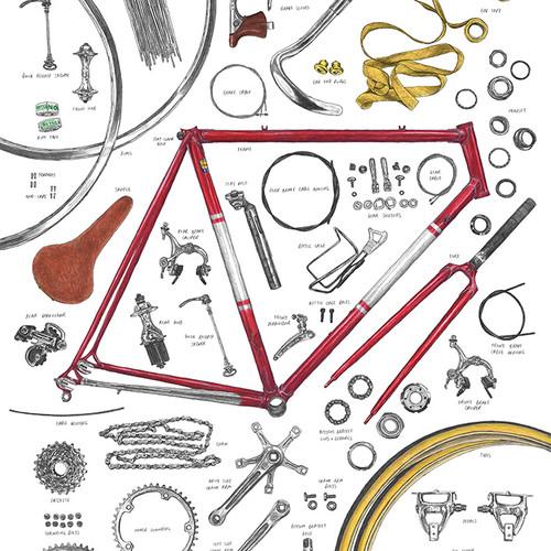 David Sparshott Cycling Print Shop