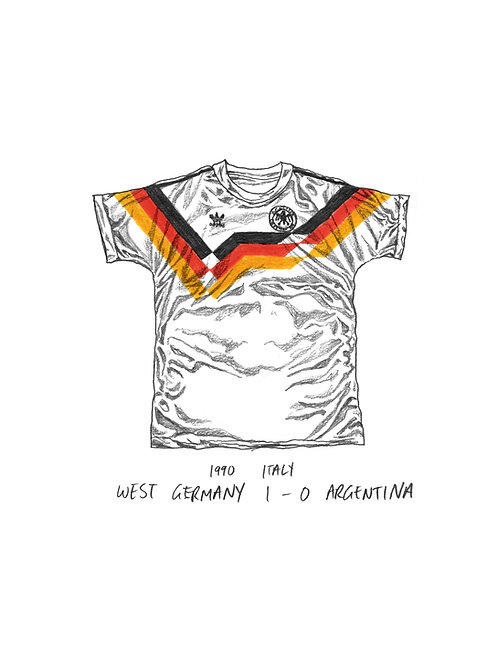 West Germany, World Cup 1990 - A4
