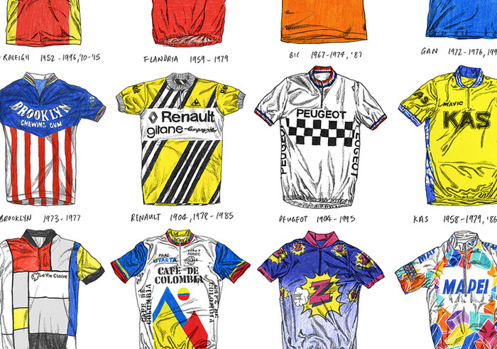 Magma Books - Cycling Jerseys