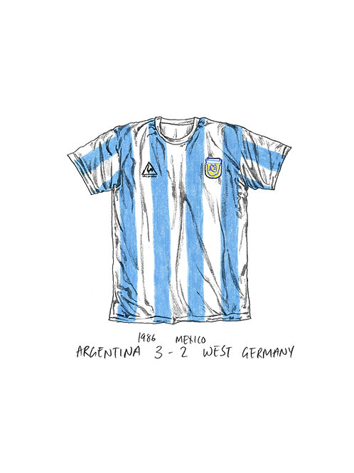 Argentina, World Cup 1986 - A4
