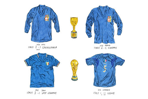 Italy, World Cup '34 '38 '82 '06 - A3