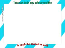 Text Colour