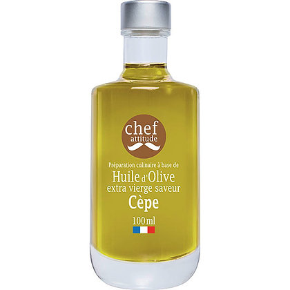 Huile d'Olive extra vierge saveur Cèpe | Provence | 100ml