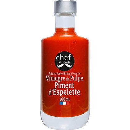 Vinaigre de Pulpe Piment d'Espelette | Provence | 100ml
