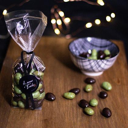 Amandes au Chocolat Noir et Blanc | Provence | 200g