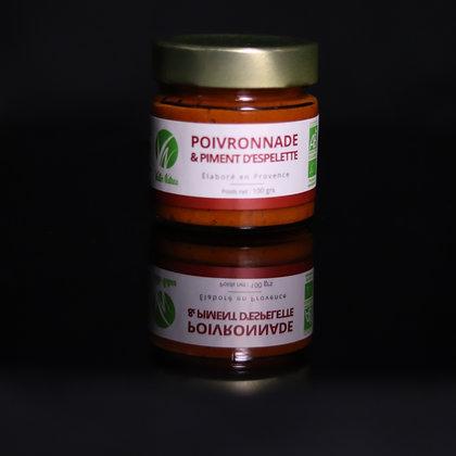 Poivronnade & Piment d'Espelette Bio | Provence | 100g