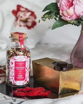 Mix and Gift : Infusion bio Envoûtante et chocolat noir et lait