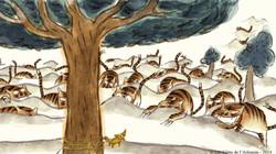 Tigres à la queue leu-leu