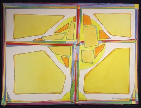 """Cruciform #4"" - Ron Leonhardt"