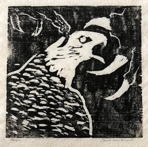 """Eagle"" - Janice Rae Greene"