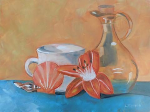 """Still Life with Tiger Lily"" - Lori Rivera"