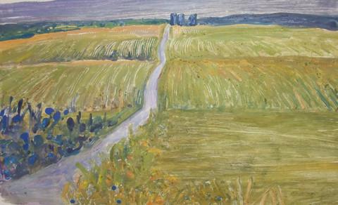 """""""Country Road 1"""" - Kazhia Kolb"""