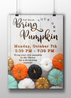 Bring Your Own Pumpkin - HCPL
