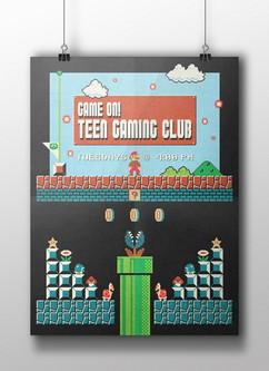 Game On! Teen Gaming Club V1 - HCPL