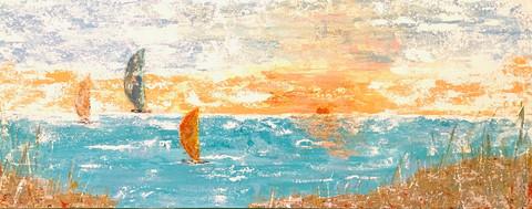 """Sunset Sails"" - Vicki Wilson"