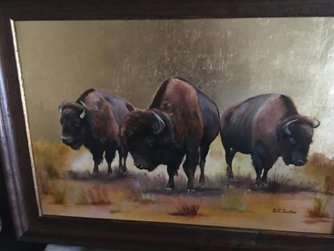 """LBL Kentucky Bison"" - Bill Burton"