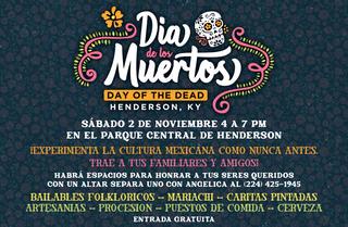 Dia de los Muertos Ad Spanish