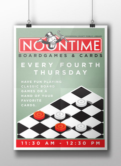 Noontime Boardgames & Cards - HCPL