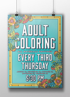 Adult Coloring - HCPL