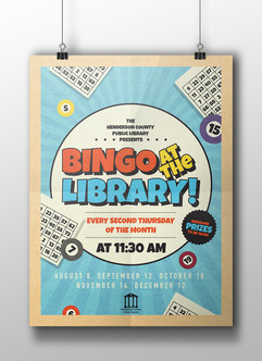 Bingo at the Library - HCPL