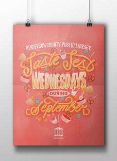 Taste Test Wednesdays During September - HCPL