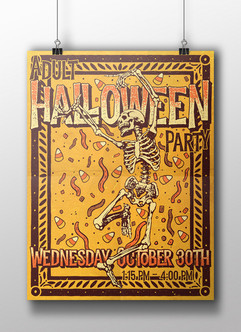 Adult Halloween Party - HCPL