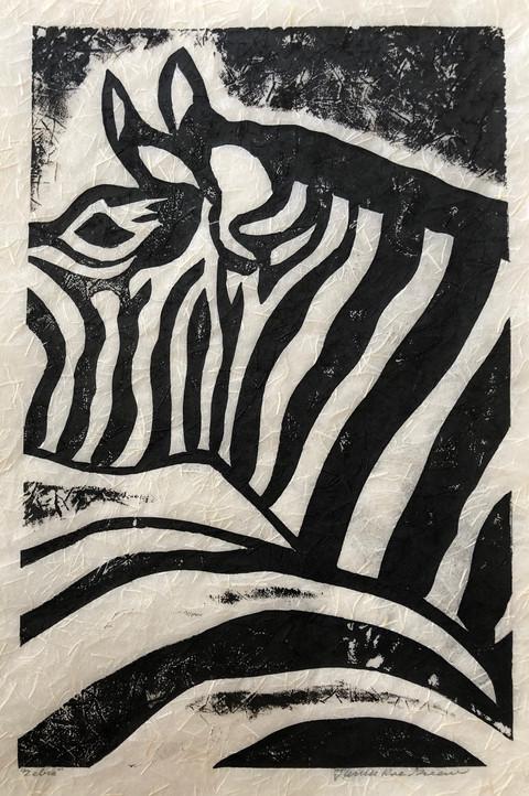 """Zebra"" - Janice Rae Greene"