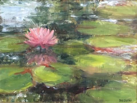 """Water Lilies"" - Iris Gentry"