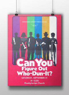 Can You Figure Out Who-Dun-It? - HCPL