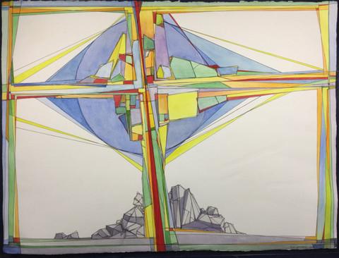 """Cruciform #3"" - Ron Leonhardt"