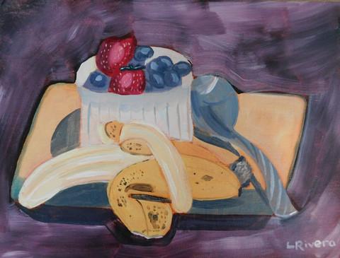 """Fruit for Breakfast"" - Lori Rivera"