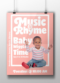 Music And Rhyme Baby Wiggle Time - HCPL