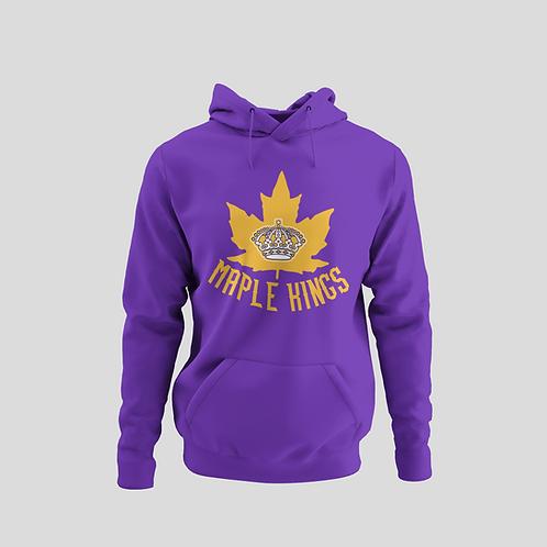 Maple Kings Purple Performance Hoodie