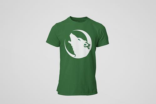 Barrie Wolfpack Green T-Shirt (White Logo)