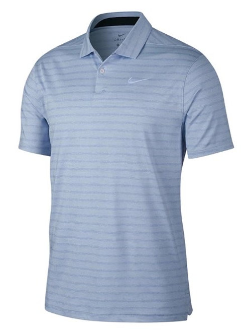 Nike Dri Fit Striped Golf Shirt
