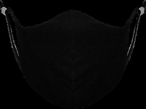 Black Adjustable - Reusable Face Mask