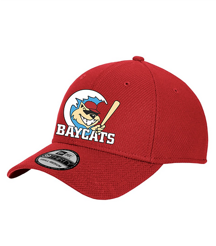 Baycats New Era Diamond Era BP Flexfit Hat Red